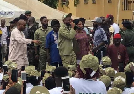 Why I registered for NYSC – Davido