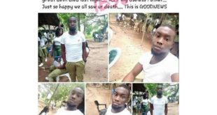 'RIP To My Useless Devilish Father' - Corper Celebrates His Father's Death