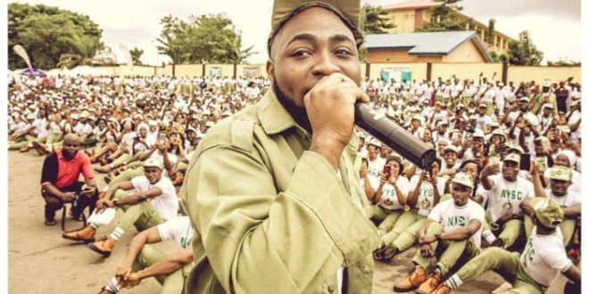 US Fans Blast Davido For Canceling His Tour To Complete NYSC