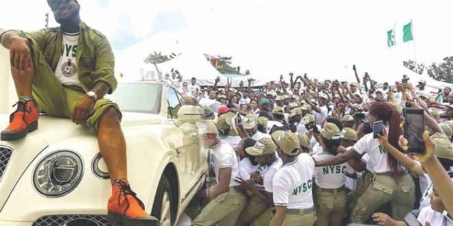 DAVIDO: 10 Things To Expect From Singer's NYSC Orientation