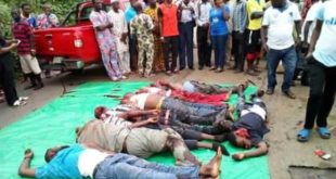 Awo Ekiti INEC Office Fatal Accident: 10 Bus Passengers Crushed To Death By Trailer - NYSC Amebo