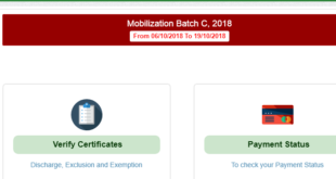 NYSC Officially Extend NYSC 2018 Batch C Registration