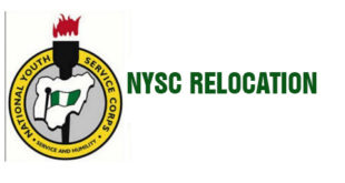 Duration Of NYSC Relocation