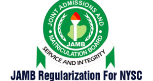 Jamb Regularization For NYSC - SOLVED!