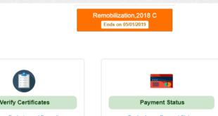 NYSC 2018 Batch C Remobilization