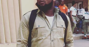Rapper Chinko Ekun At NYSC Orientation Camp, Lagos (PHOTOS)