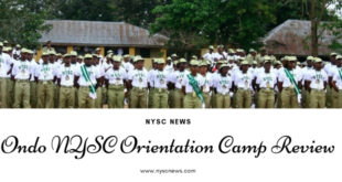 Ondo NYSC Orientation Camp Review