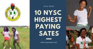 NYSC State Allowee Amount In All States In Nigeria