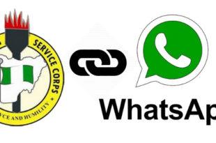 NYSC 2019 Batch B Whatsapp Group