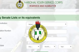 List Of Institutions Whose Senate List Is Out