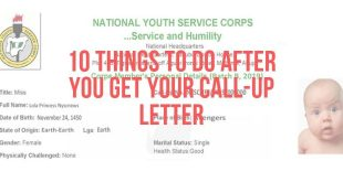 10 Things To Do After You Get Your Call-Up Letter