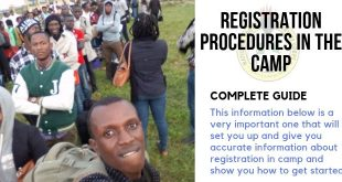 Registration Procedures In The Camp