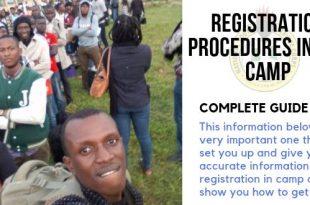 Registration Procedures In The Camp