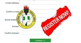 NYSC Batch B 2019 Online Registration