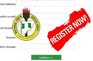 NYSC Batch B 2019 Online Registration