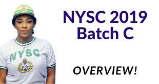 NYSC 2019 Batch C