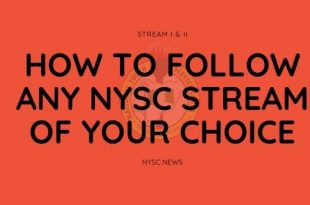 how to follow any nysc stream