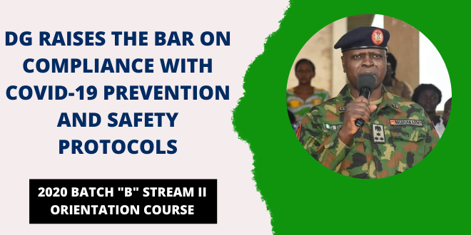 NYSC DG Speaks On Compliance With Covid-19 Prevention