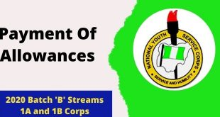 Payment Of Allowances