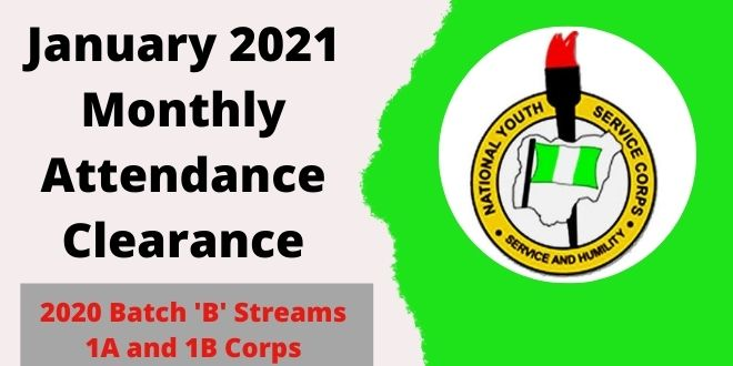 2020 Batch 'B' Streams 1A and 1B Corps