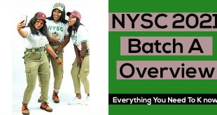 NYSC Batch A 2021 Overview