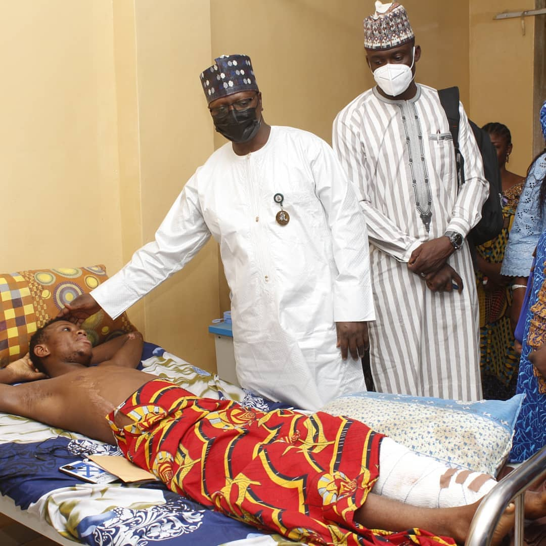 NYSC DG visits hospitalized Corps Members in Ilorin