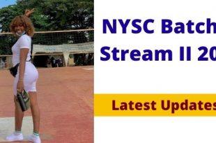 NYSC Batch C Stream II 2021