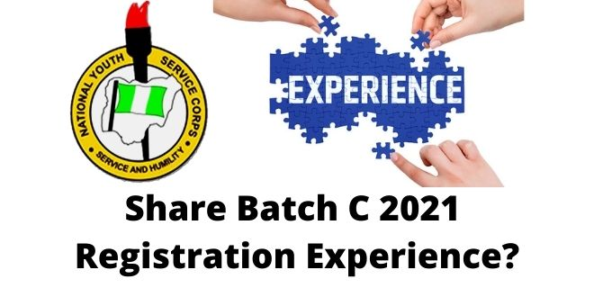 Share Batch C 2021 Registration Experience?